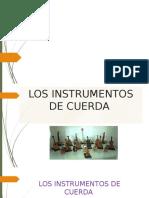 Los instrumentos de cuerda