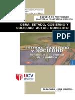 Estado Gobierno y Sociedad - Norberto Bobbio