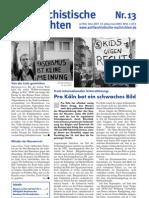 antifaschistische nachrichten 2007 #13
