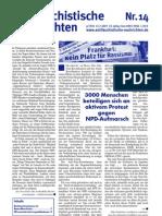 antifaschistische nachrichten 2007 #14