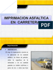 IMPRIMACION ASFALTICA  EN CARRETERAS