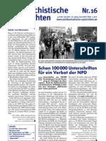 antifaschistische nachrichten 2007 #16