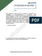 Ejercicio El Falsacionismo de Karl Popper 1134