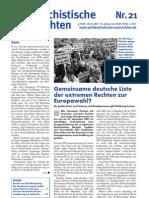 antifaschistische nachrichten 2007 #21