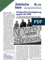 antifaschistische nachrichten 2007 #22