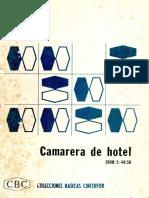 Colecciones Básicas Cinterfor (CBC) - Camarera de Hotel