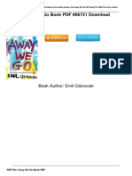 [G.O.O.D] Download Away We Go Book PDF