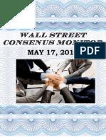 Wall Street Consensus Monitor 5/17/2010