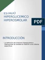 Estado Hiperglicemico Hiperosmolar