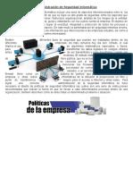 Resumen Administración de Seguridad Informática