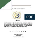 Elaboracion Del Taller