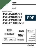 MANUAL Pioneer sistemas de audio para automóviles