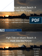 Miami Beach - FIU  - King Tide Day Experiment Update
