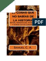 C a Samuel - 25 Cosas Que No Sabias de La Historia