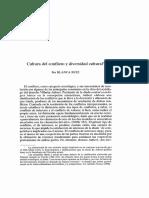 Cultura - Conflicto