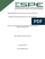 Ensayo de La Importancia de La Gestión de Proyecto en El Ámbito Agropecuario-Paul Añazco