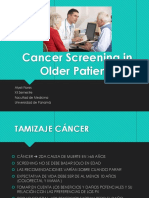 Cancer Screening in Older Patients