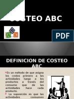 Costos ABC Definicion