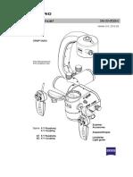 Carl Zeiss Neuro Microscope OPMI VARI Service Manual English