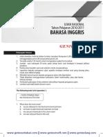 Download Soal dan Pembahasan UN Bahasa Inggris SMP 2010-2011