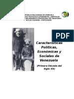 Cuadro Vene CUADRO VENEZUELA SIGLO XX.docxzuela Siglo Xx