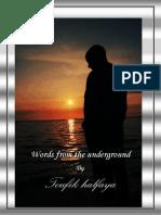 Words From the Underground by halfaya toufik