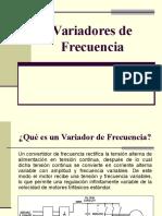 1.- Variadores de Frecuencia