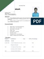 Shaswat Resume