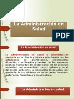 3. Administracion de La Salud