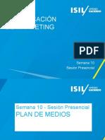 Com de MKT - 2015-1 - Semana 10 - SP - Plan de medios.pptx