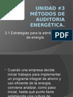 Estrategias Para El Ahoro de Energia