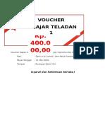 design Voucher