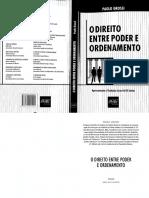 O Direito Entre Poder e Ordenamento - Paolo Grossi