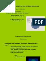 Composicion Quimica de Los Sistemas Biologicos