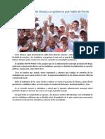 30.05.16 Promete Almaraz Un Gobierno Que Hable de Frente