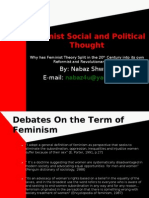 Feminist Social and Political Thought