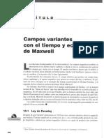 Capitulo 10 - Campos Variantes Con El Tiempo y Ecuaciones de Maxwell