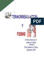 Termorregulacion y Fiebre