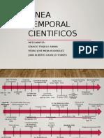 Descubrimientos Científicos (Cronograma)