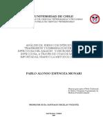 Análisis de Riesgo de Introducción, Transmisión y Diseminación de Anemia Infecciosa Del Salmón y Necrosis Pancreática Infecciosa