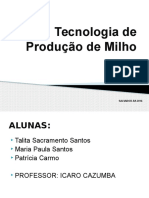 Tecnologia de Produção de Milho