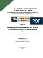 Tesis - Propuesta de Estrategias Comerciales para Ospina SAC