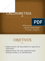 CALORIMETRÍA