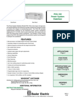 PSS100 Product Bulletin