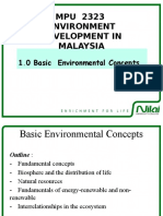 Basic COncepts of the Environment