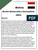Bolivia Partidos Politicos