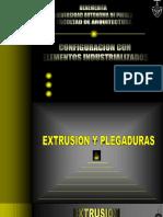 EXTRUSIONY PLEGADURAS