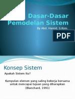 1.Dasar-Dasar Pemodelan Sistem