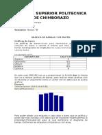 GRAFICA DE BARRAS Y DE PASTEL