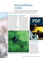 Australian Innovations in Health and Biomedine